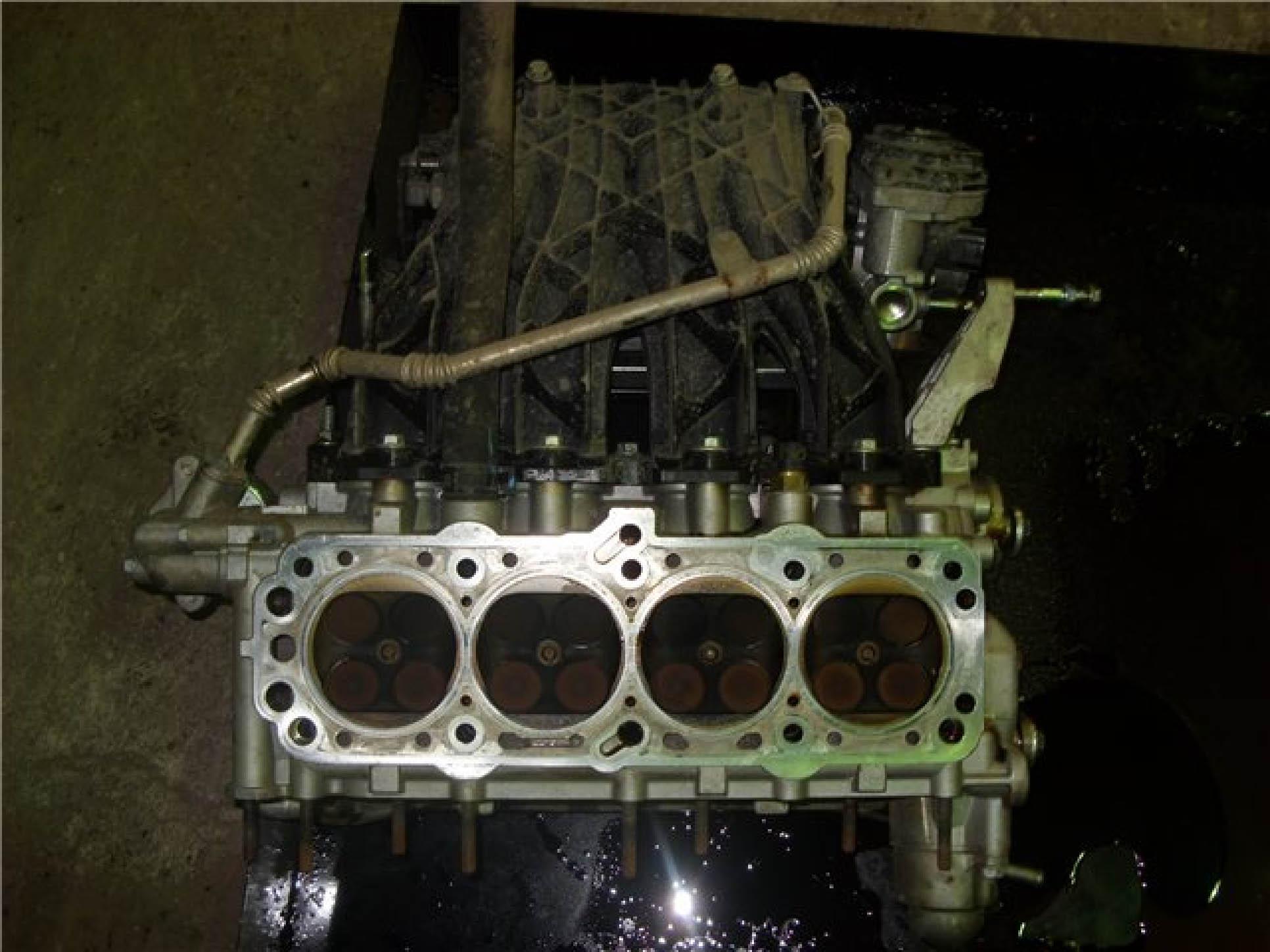 схема механизма головки блок двигателя шевроле лачетти